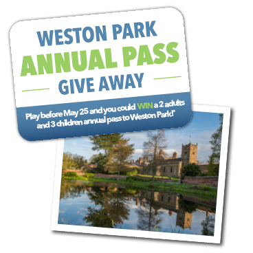 WIN a family annual pass to Weston Park